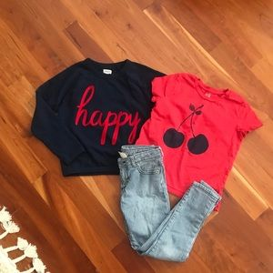 Gymboree Happy Cherry Outfit